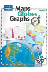 Maps, Globes, Graphs  Student Edition Level F-9780739891063