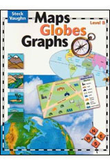 Maps Globes Graphs  Teacher's Guide, Level B Grade 2-9780739891087