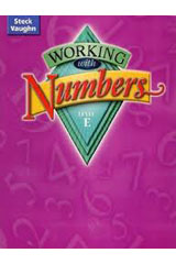 Steck-Vaughn Working with Numbers  Teacher's Guide Level E Level E-9780739891667