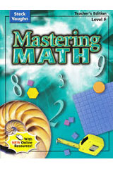 Mastering Math  Teacher's Guide Level F-9780739892176