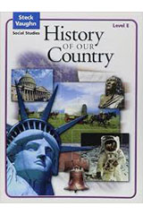 Steck-Vaughn Social Studies © 2004  Teachers Guide History of Our Country-9780739892343