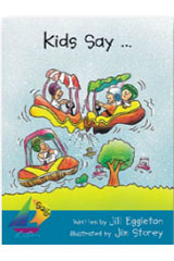 Rigby Sails Launching Fluency  Leveled Reader 6pk Turquoise Kids Say ...-9780757807046