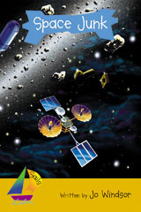 Rigby Sails Launching Fluency  Leveled Reader 6pk Gold Space Junk-9780757807879