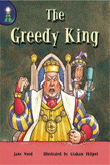 Rigby Lighthouse  Leveled Reader 6pk (Levels J-M) The Greedy King-9780757808616