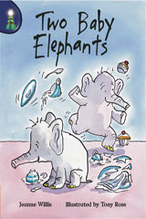 Rigby Lighthouse  Leveled Reader 6pk (Levels J-M) Two Baby Elephants-9780757808661