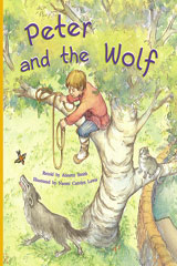 Rigby PM Plus  Leveled Reader 6pk Gold (Levels 21-22) Peter and the Wolf-9780757809217