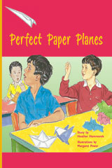 Rigby PM Plus  Leveled Reader 6pk Gold (Levels 21-22) Perfect Paper Planes-9780757809286