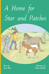 Rigby PM Plus  Leveled Reader 6pk Gold (Levels 21-22) A Home for Star and Patches-9780757809347