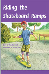 Rigby PM Plus  Leveled Reader 6pk Silver (Levels 23-24) Riding the Skateboard Ramps-9780757809446