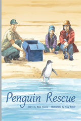 Rigby PM Plus  Individual Student Edition Silver (Levels 23-24) Penguin Rescue-9780757811043