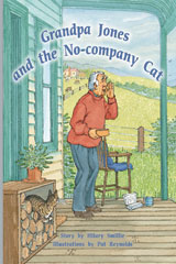 Rigby PM Plus  Individual Student Edition Silver (Levels 23-24) Grandpa Jones and the No-company Cat-9780757811067