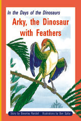 Rigby PM Plus  Individual Student Edition Gold (Levels 21-22) In the Days of Dinosaurs: Arky, the Dinosaur with Feathers-9780757811739