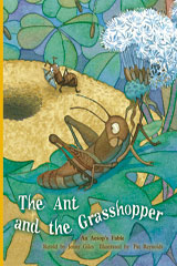Rigby PM Plus  Individual Student Edition Gold (Levels 21-22) The Ant and the Grasshopper-9780757811746