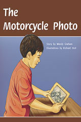 Rigby PM Plus  Individual Student Edition Gold (Levels 21-22) The Motorcycle Photo-9780757811814