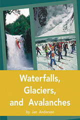 Rigby PM Plus  Individual Student Edition Gold (Levels 21-22) Waterfalls, Glaciers, and Avalanches-9780757811982