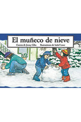 Rigby PM Coleccion  Individual Student Edition rojo (red) El muñeco de nieve (The Little Snowman)-9780757812545