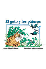 Rigby PM Coleccion  Individual Student Edition rojo (red) El gato y los pájaros (Kitty and the Birds)-9780757812576