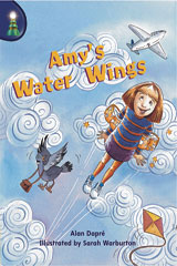 Rigby Lighthouse  Individual Student Edition (Levels J-M) Amy's Water Wings-9780757819766