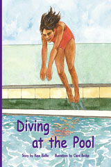 Rigby PM Plus  Leveled Reader 6pk Purple (Levels 19-20) Diving at the Pool-9780757827501