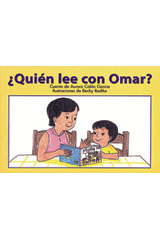 Rigby PM Coleccion  Leveled Reader 6pk rojo (red) ¿Quién lee con Omar? (Who Reads with Omar?)-9780757829611