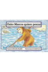 Rigby PM Coleccion  Leveled Reader 6pk amarillo (yellow) Osito Marcos quiere pescar (Baby Bear Goes Fishing)-9780757829888