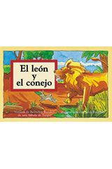 Rigby PM Coleccion  Leveled Reader 6pk azul (blue) El león y el conejo (The Lion and the Rabbit)-9780757830075