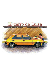 Rigby PM Coleccion  Leveled Reader 6pk azul (blue) El carro de Luisa (Jane's Car)-9780757830167