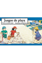 Rigby PM Coleccion  Leveled Reader 6pk azul (blue) (Levels 9-11) Juegos de playa (Teasing Dad)-9780757830204