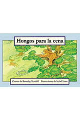 Rigby PM Coleccion  Leveled Reader 6pk azul (blue) Hongos para la cena (Mushrooms For Dinner)-9780757830266
