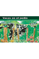 Rigby PM Coleccion  Leveled Reader 6pk azul (blue) Vacas en el jardín (Cows in the Garden)-9780757830273