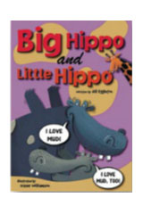 Rigby Sails Sailing Solo  Leveled Reader 6pk Green Big Hippo and Little Hippo-9780757840081