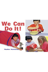 Rigby Focus Emergent  Leveled Reader 6pk Nonfiction (Levels A-E) We Can Do It!-9780757852770