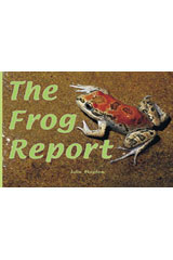 Rigby Focus Early  Leveled Reader Bookroom Package Nonfiction (Levels F-I) The Frog Report-9780757855580