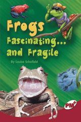 Rigby PM Plus  Individual Student Edition Ruby (Levels 27-28) Frogs: Fascinating...and Fragile-9780757869143