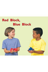 Rigby PM Math Readers  Individual Student Edition Red Red Block, Blue Block-9780757873713