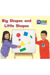 Rigby PM Math Readers  Individual Student Edition Red Big Shapes and Little Shapes-9780757873737