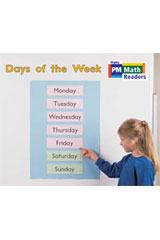 Rigby PM Math Readers  Individual Student Edition Yellow Days of the Week-9780757873782