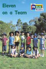 Rigby PM Math Readers  Individual Student Edition Blue (Levels 10-13) Eleven on a Team-9780757873966