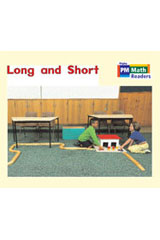Rigby PM Math Readers  Leveled Reader 6pk Red (Levels 3-5) Long and Short-9780757874253