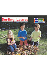 Rigby PM Math Readers  Leveled Reader 6pk Red (Levels 3-5) Sorting Leaves-9780757874260