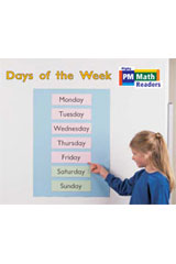 Rigby PM Math Readers  Leveled Reader 6pk Yellow (Levels 6-8) Days of the Week-9780757874277