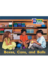 Rigby PM Math Readers  Leveled Reader 6pk Yellow (Levels 6-9) Boxes, Cans, and Balls-9780757874314