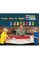 Rigby PM Math Readers  Leveled Reader 6pk Yellow (Levels 6-9) From One to Eight-9780757874345
