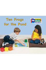 Rigby PM Math Readers  Leveled Reader 6pk Yellow (Levels 6-9) Ten Frogs for the Pond-9780757874376