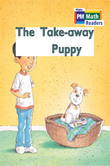 Rigby PM Math Readers  Leveled Reader 6pk Blue (Levels 10-13) The Take-away Puppy-9780757874413