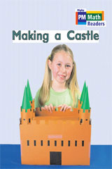 Rigby PM Math Readers  Leveled Reader 6pk Blue (Levels 10-13) Making a Castle-9780757874482