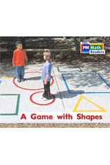 Rigby PM Math Readers  Leveled Reader 6pk Red (Levels 3-5) A Game with Shapes-9780757874659