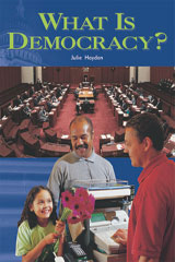 Rigby Focus Fluency  Leveled Reader 6pk Nonfiction (Levels L-O) What Is Democracy?-9780757881053