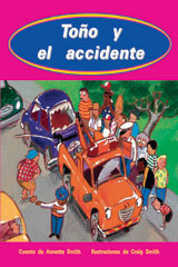 Rigby PM Coleccion  Leveled Reader 6pk turquesa (turquoise) Toño y el accidente (Toby and the Accident)-9780757881770
