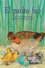 Rigby PM Coleccion  Leveled Reader 6pk turquesa (turquoise) El patito feo (The Ugly Duckling)-9780757882036